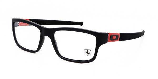 oakley optical frame marshal black ferrari red ox8034 09