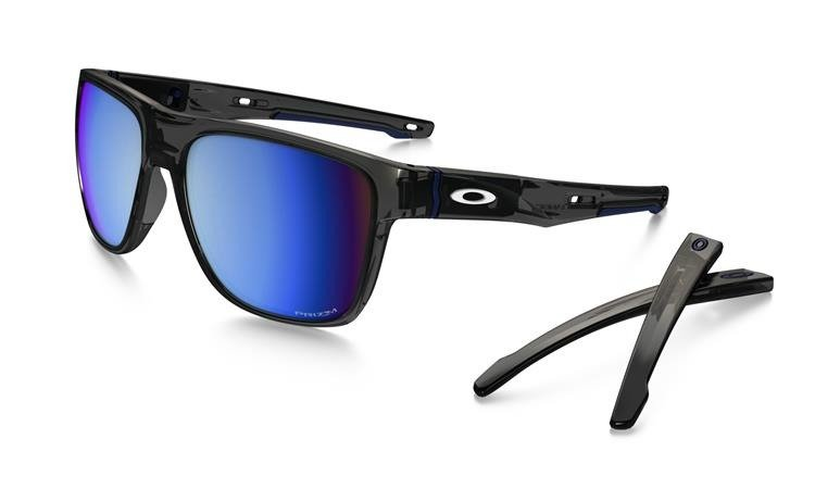 authorized oakley dealers online j5ga  Oakley Sunglasses CROSSRANGE XL Gray Smoke / Prizm Deep Water Polarized  OO9360-09