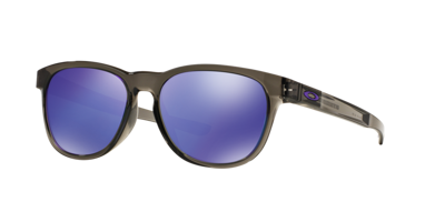 OAKLEY Okulary Stringer Gray Smoke / Violet Iridium OO9315-05