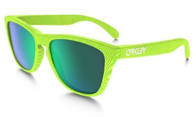 Oakley Okulary FROGSKINS Fingerprint Retina Burn/Jade Iridium OO9013-54