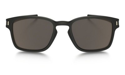 Oakley Okulary LATCH SQ Matte Black/Warm Gray OO9353-01