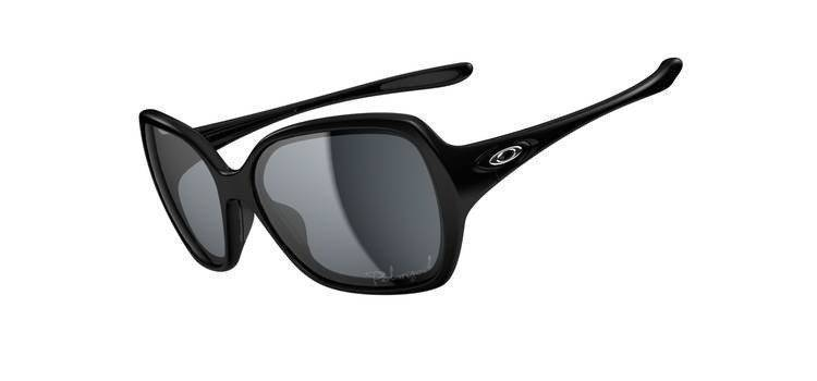 Oakley Okulary OVERTIME Polished Black/Grey Polarized OO9167-07