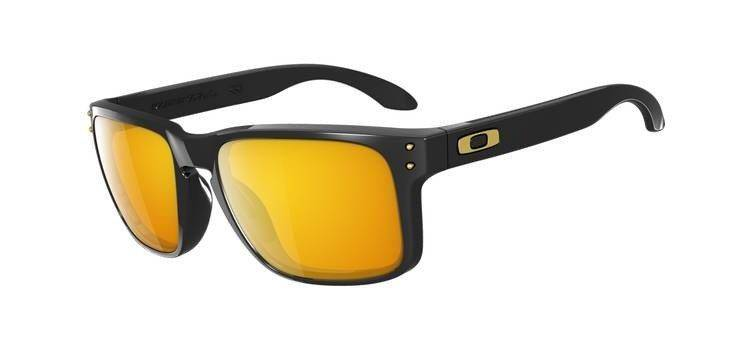Oakley Okulary HOLBROOK SHAUN WHITE Polished Black/24K Iridium OO9102-08