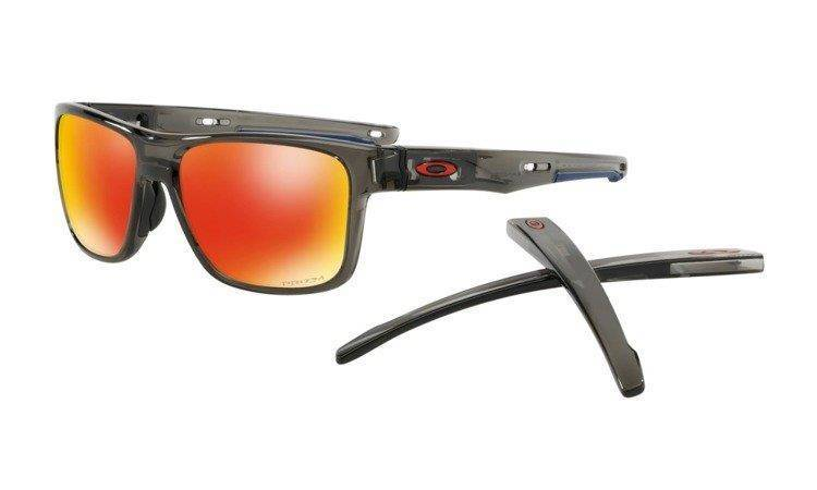 Oakley CROSSRANGE Grey Smoke/Prizm Ruby OO9361-12