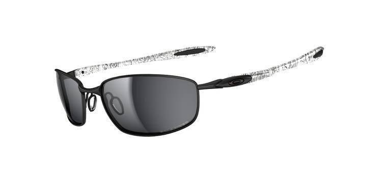 Oakley Sunglasses  BLENDER Dark/Black History Text/OO Black Iridium Polarized OO4059-06