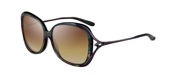 Oakley Sunglasses  CHANGEOVER Abalone/Dark Brown Gradient OO2035-03