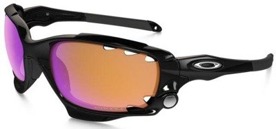 Oakley Okulary RACING JACKET PRIZM TRAIL COLLECTION Matte Black/Prizm Trail & Clear Vented OO9171-33