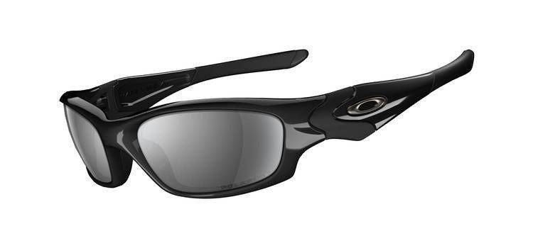 Oakley Okulary Straight Jacket Polished Black/Black Iridium Polarized 12-935