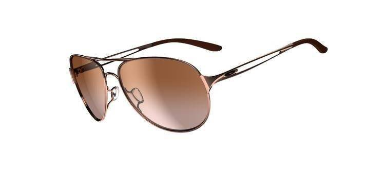 Oakley Sunglasses  CAVEAT Rose Gold/VR50 Brown Gradient OO4054-01