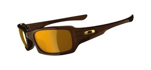 Oakley Okulary FIVES SQUARED Polished Rootbeer/Bronze Polarized OO9238-08
