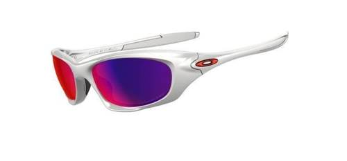 Oakley Sunglasses  TWENTY Polished White/OO Red Iridium Polarized OO9157-05