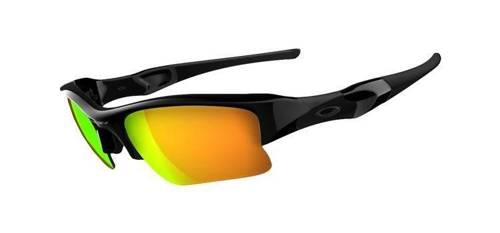 Oakley Okulary FLAK JACKET XLJ Polished Black/Fire Iridium 03-899