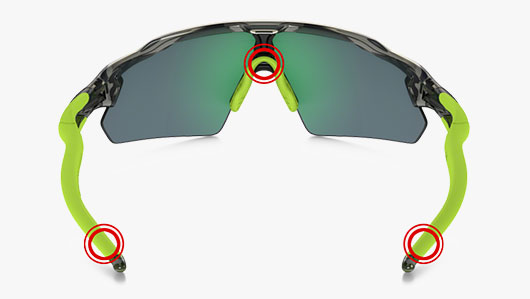 Oakley Three Point Fit
