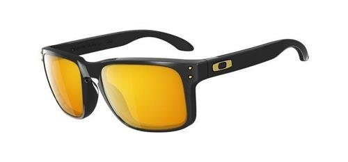 Oakley Sunglasses  HOLBROOK SHAUN WHITE Polished Black/24K Iridium OO9102-08