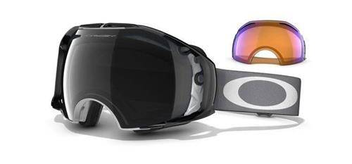 OAKLEY Gogle AIRBRAKE SHAUN WHITE SIGNATURE SERIES Grey Future Primitive/Dark Grey & H.I. Persimmon 59-219