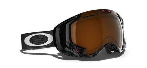 OAKLEY Gogle AIRWAVE™ 1.5 Silver Text/Black Iridium 59-448