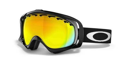OAKLEY Gogle CROWBAR Jet Black/Fire Iridium POLARIZED 57-289