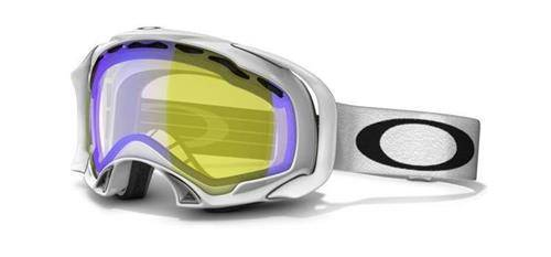 OAKLEY Gogle SPLICE Polished White/H.I. Amber POLARIZED 57-244