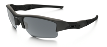 Oakley FLAK JACKET XLJ Matte Black/Black Iridium Polarised 24-433