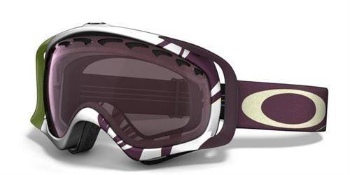 Oakley Gogle CROWBAR Smoke Rings Aubergine / Prizm Black Iridium 59-754