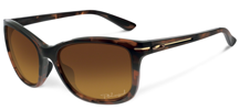 Oakley Okulary DROP IN Tortoise / Brown Gradient Polarized OO9232-03