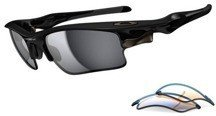 Oakley Okulary FAST JACKET XL Polished Black/Black Iridium&P42 OO9156-18