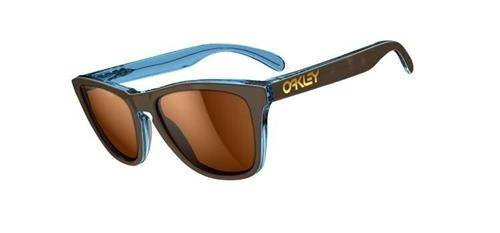 Oakley Okulary Frogskins LX Tortoise Blue/Bronze Polarized OO2043-03