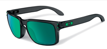 Oakley Okulary HOLBROOK Black Ink/Jade Iridium Polarised OO9102-69