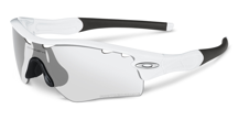 Oakley Okulary RADAR PATH Matte White/Clear Black Photochrome Vented 9051-05