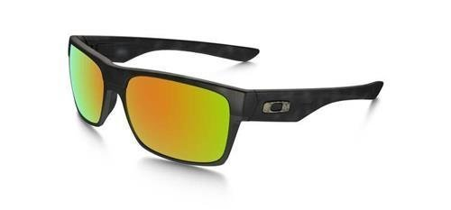 Oakley Okulary SPECIAL EDITION FALL OUT TWOFACE Matte Black Tortoise/Ruby Iridium OO9189-11
