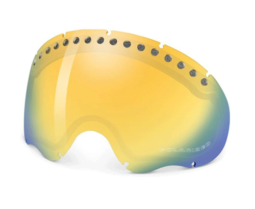 Szyba Oakley A-FRAME Snow Fire Iridium Polarized