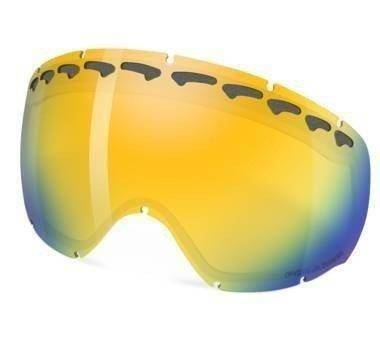 Szyba Oakley Crowbar Snow Fire Iridium Polarized 01-043