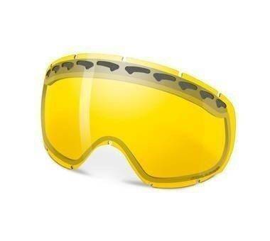 Szyba Oakley Crowbar Snow H.I. Amber Polarized 02-122