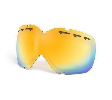 Szyba Oakley Stockholm Snow Fire Iridium Polarized 01-049