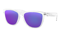 Oakley Sunglasses Frogskins Polished Clear/Violet Iridium 24-305
