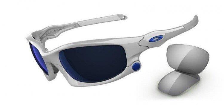 522d12509c3 Oakley Sunglasses SPLIT JACKET Polished White Ice Iridium