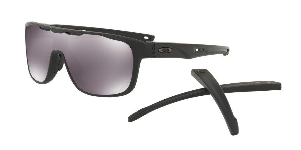 Oakley Okulary przeciwsłoneczne CROSSRANGE SHIELD Matte BlackPrizm Black OO9387 02