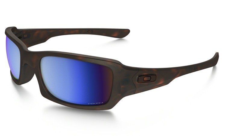 f183e2f3c7 Oakley Sunglasses FIVES SQUARED Matte Tortoise Prizm Deep H2O Polarized  OO9238-17 OO9238-17