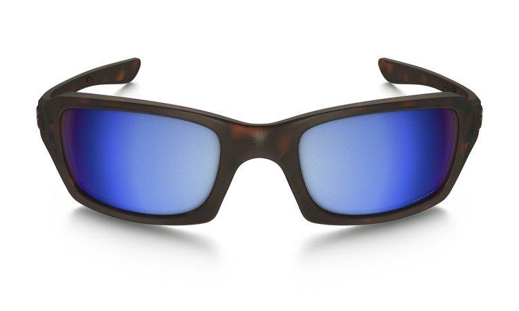 a1b21b646a ... Oakley Sunglasses FIVES SQUARED Matte Tortoise Prizm Deep H2O Polarized  OO9238-17 ...