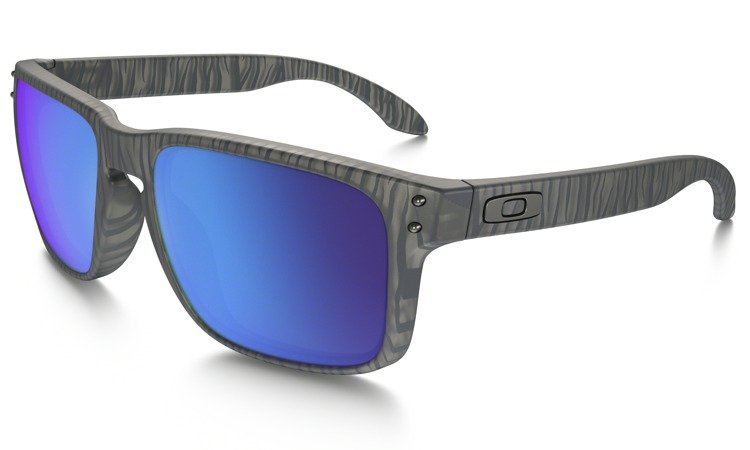 44d3e8b4aa Oakley Sunglasses HOLBROOK URBAN JUNGLE COLLECTION Matte Grey Ink Sapphire  Iridium OO9102-A1 OO9102-A1