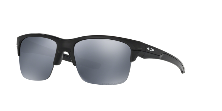 2f1cc73b65 ... OAKLEY Sunglasses THINLINK Matte Black   Black Iridium Polarized  OO9316-06 ...