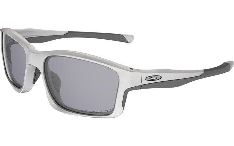6590c63fa2baa OAKLEY Sunglasses CHAINLINK Matte White   Grey Polarized OO9247-07  OO9247-07