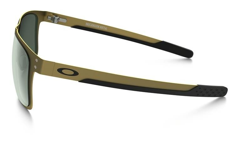8fdd873d310 Oakley Sunglasses HOLBROOK™ METAL Gold Satin   Dark Gray OO4123-08 ...