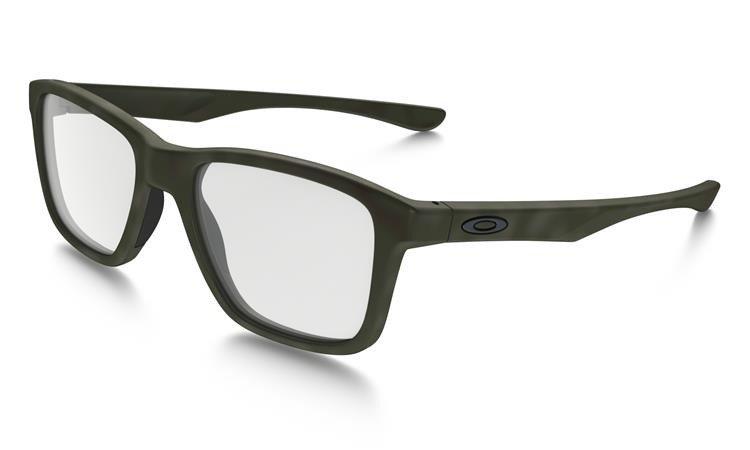 becb1990f73 Oakley Optical Frame TRIM PLANE Matte Green Tortoise OX8107-05 OX8107-05