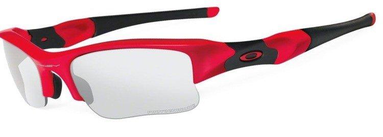 Oakley Sunglasses FLAK JACKET XLJ Infrared Clear Black Irdium Transitions  OO9009-06 ... a610b310567e
