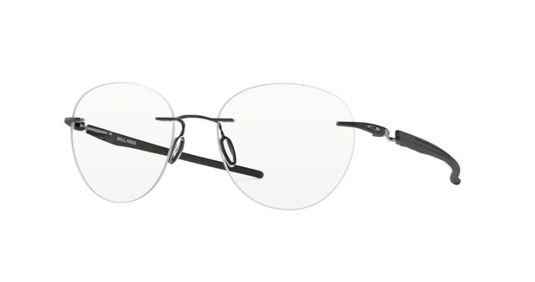 f36b49f0215f6 ... Oakley Optical Frame DRILL PRESS Satin Black Clear OX5143-01 ...
