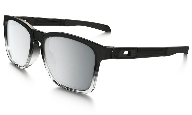 cdd90826bedca OAKLEY CATALYST Grey Ink Fade   Chrome Iridium OO9272-18     Oakley ...