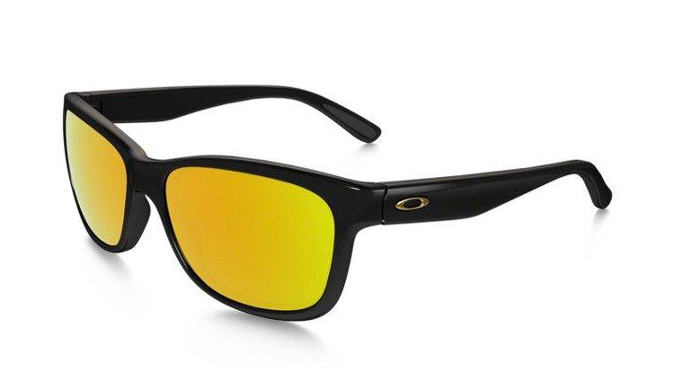 01768f120127e9 Oakley Sunglasses OAKLEY FOREHAND Polished Black 24K Gold Iridium OO9179-30