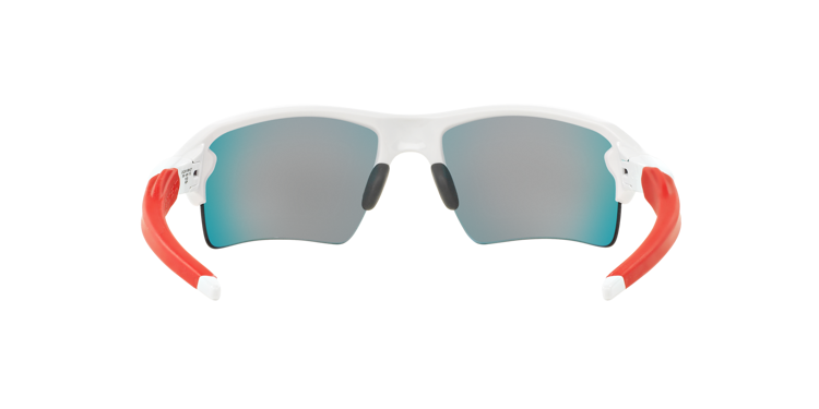 e83446f87a ... Oakley Sunglasses FLAK 2.0 XL Polished White Positive Red Iridium OO9188-21  ...