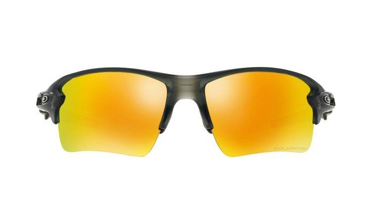 5618886848 ... OAKLEY Sunglasses FLAK 2.0 XL Matte Gray Smoke   Fire Iridium Polarized  OO9188-10 ...